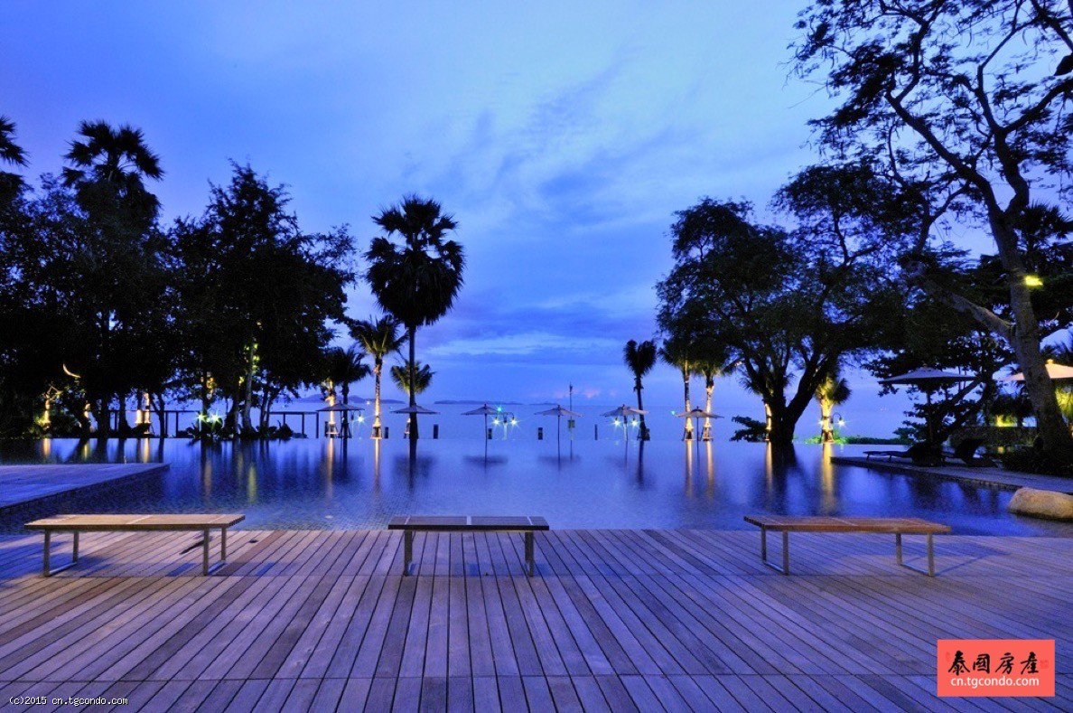 Northpoint北点大厦,泰国芭提雅第一海景豪宅,私人沙滩