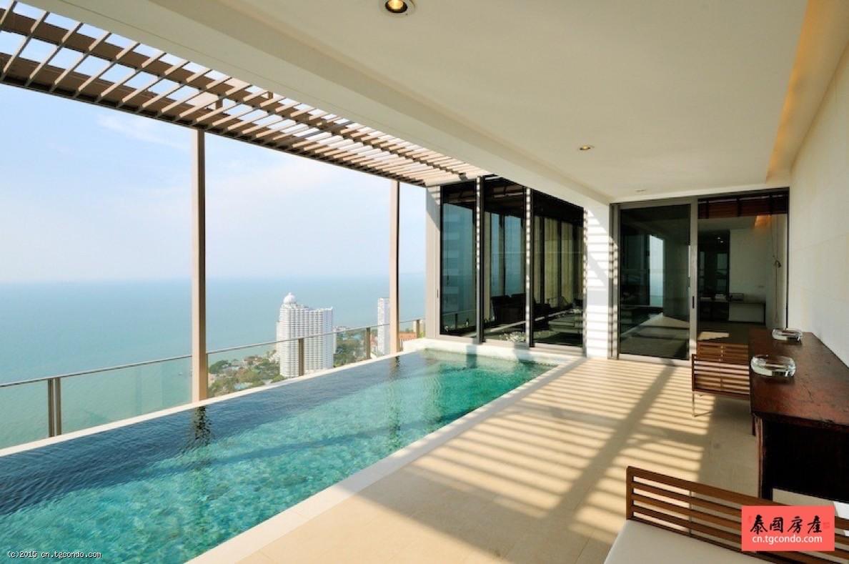 泰国芭提雅豪宅:北点大厦180度海景 Northpoint
