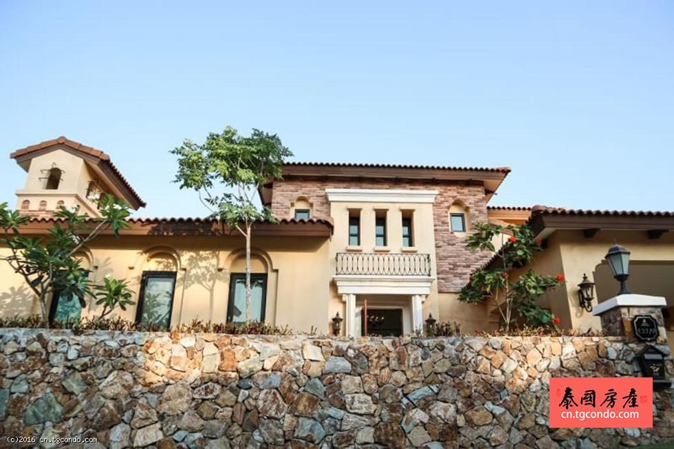 芭提雅意大利托斯卡纳风情别墅Nusa Chivani