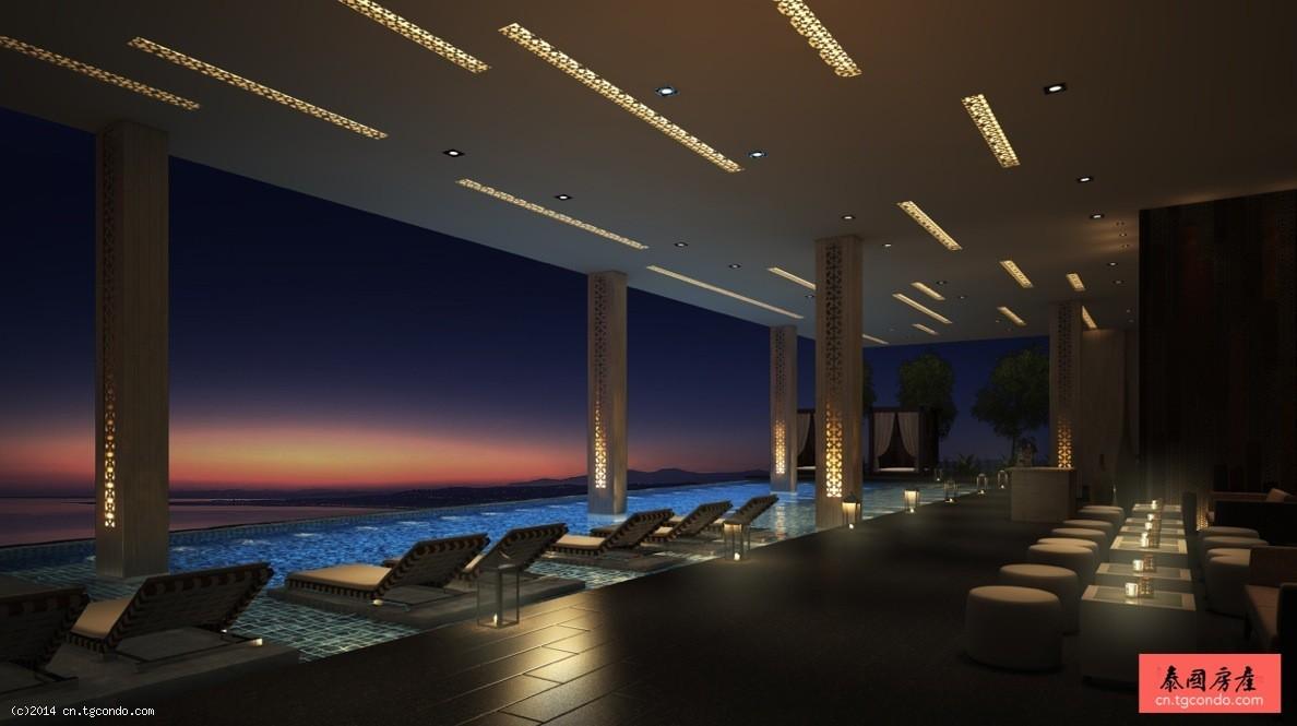 泰国芭提雅万豪行政公寓2卧 Onyx Residences