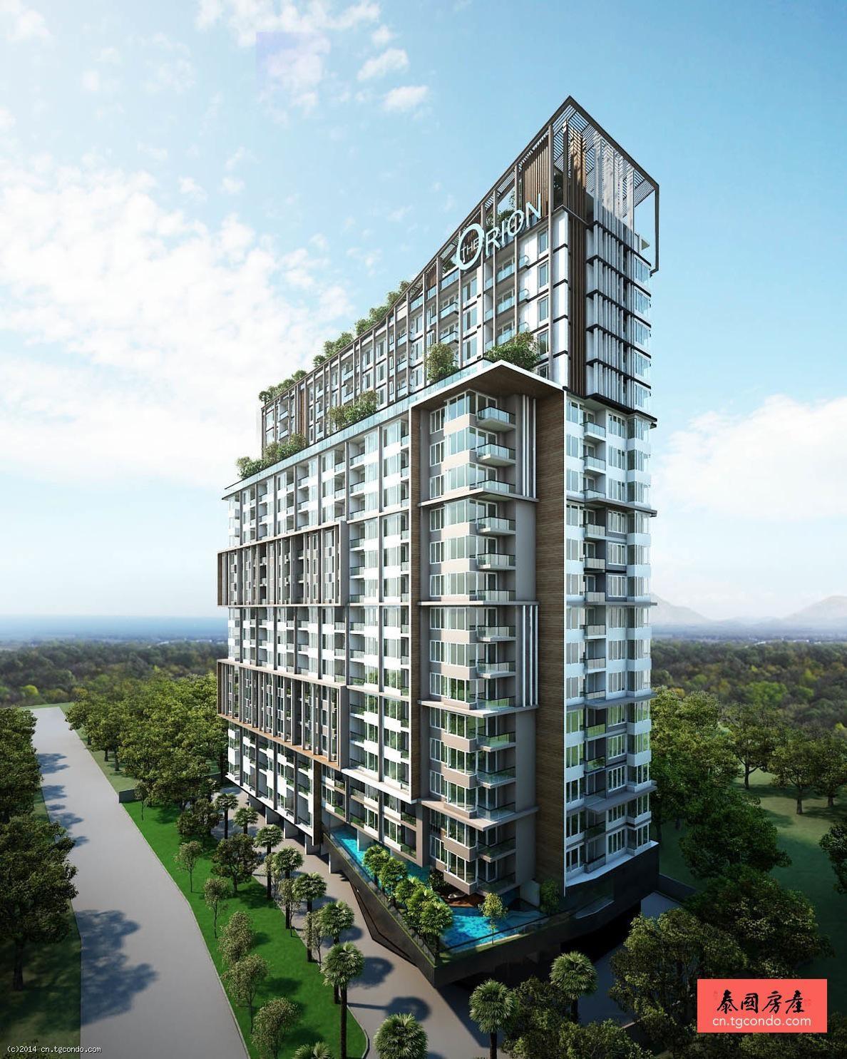 泰国芭提雅猎户座公寓 Orion Condo Pattaya