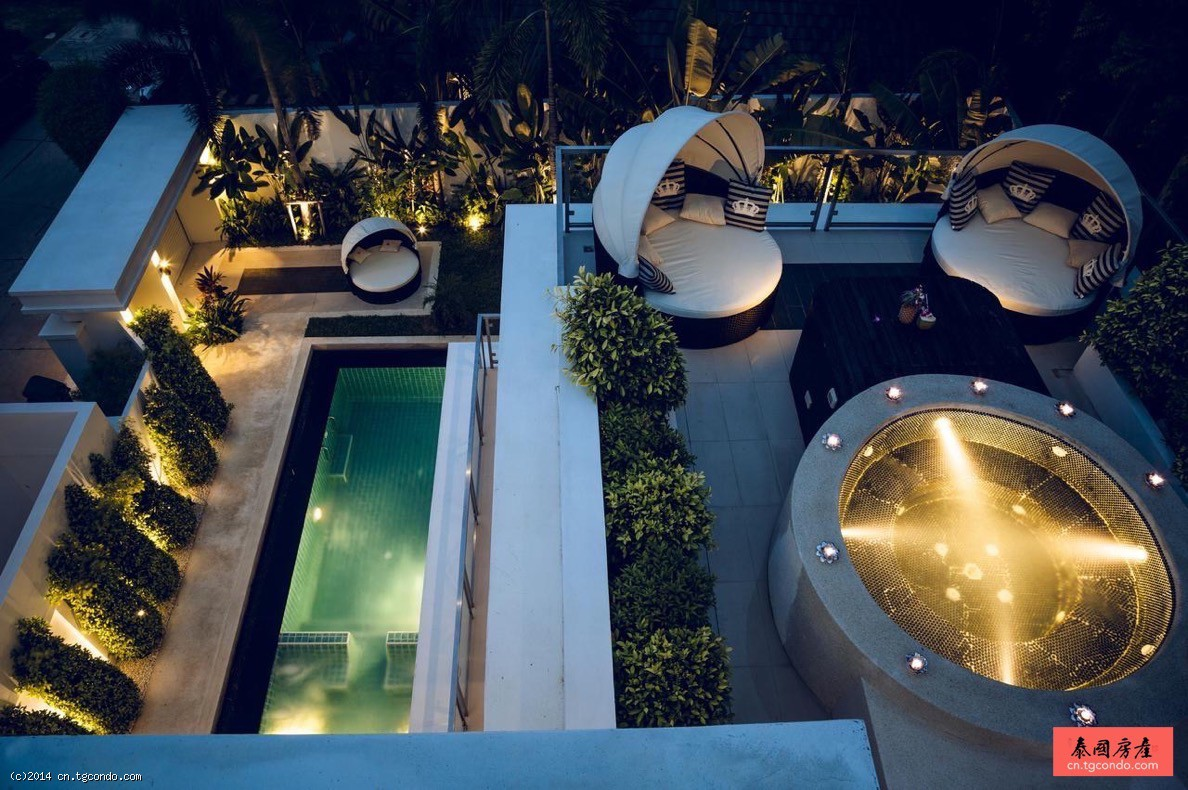 泰国芭提雅别墅棕榈绿洲 Palm Oasis