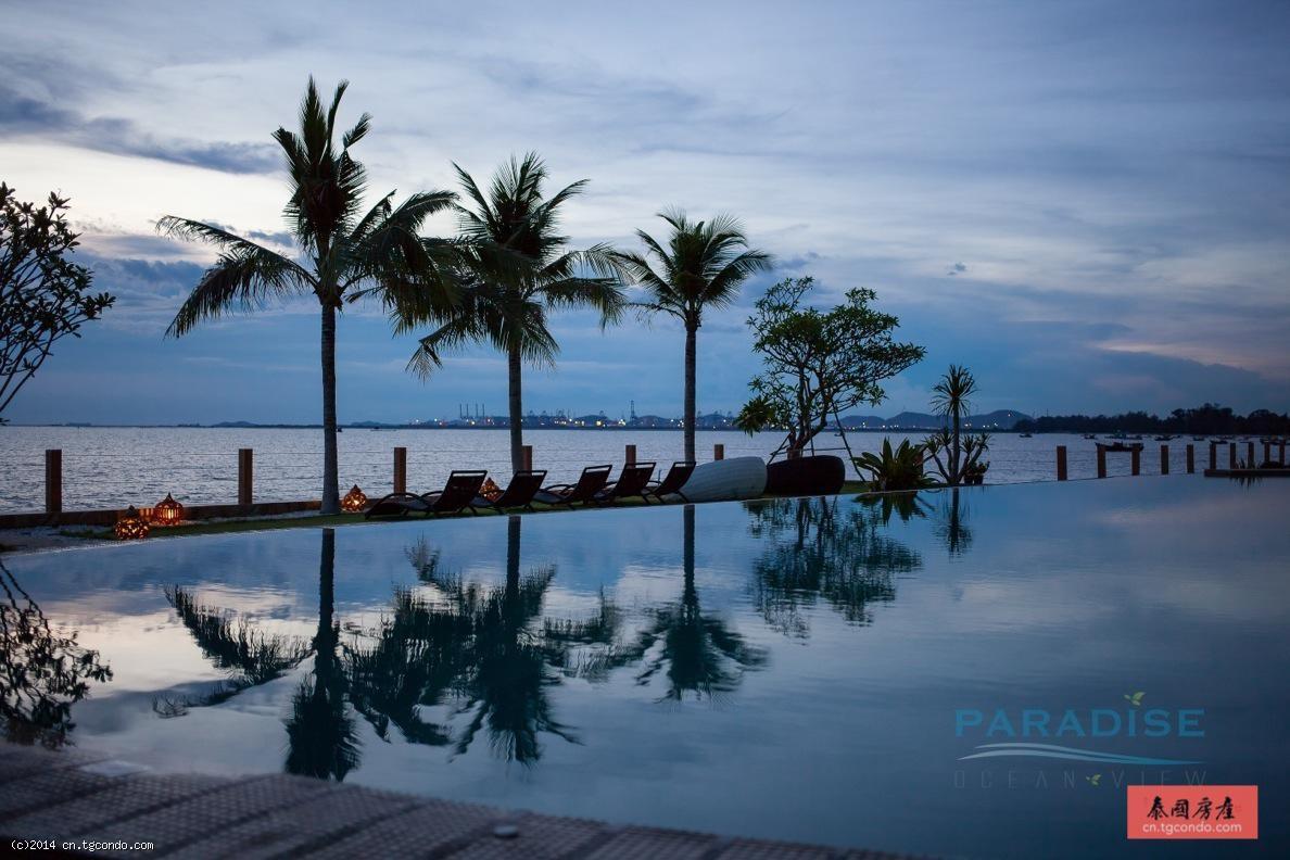 泰国芭提雅天堂海景现房 Paradise Ocean View