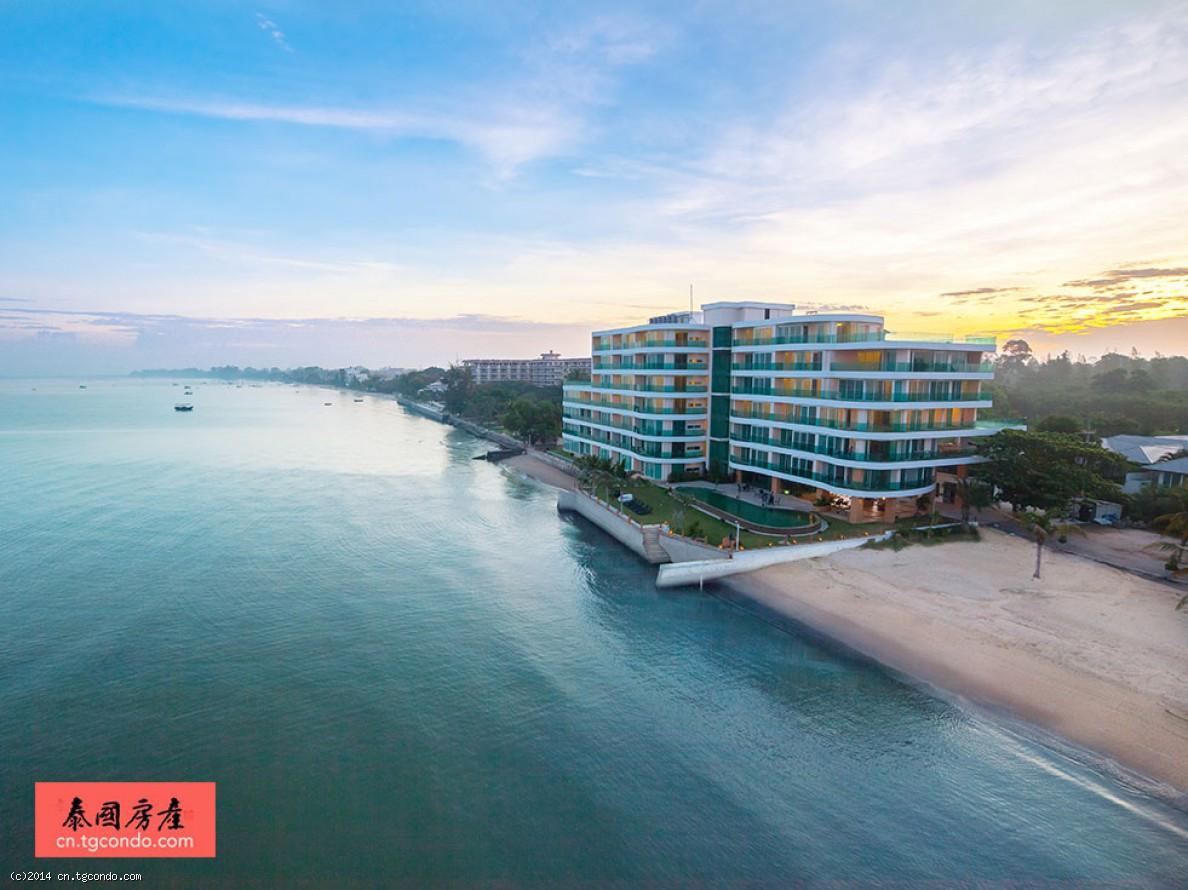 泰国芭提雅公寓天堂海景Paradise Ocean View59平1卧