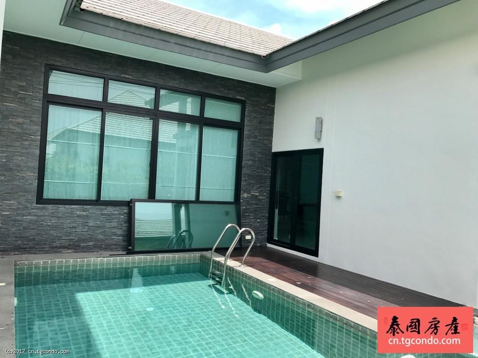 泰国芭提雅超大私家泳池别墅出售 Patta Village