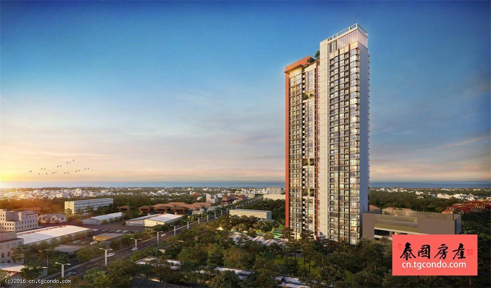 泰国芭提雅北路高层楼盘Pattaya Posh