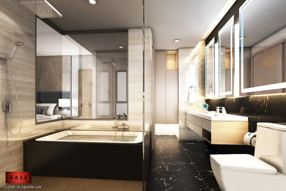 芭提雅Aeras48平米高层海景公寓