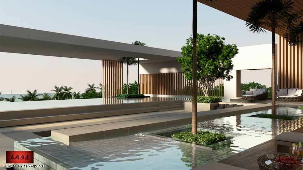 泰国芭提雅房地产一线海景公寓26平 Aeras