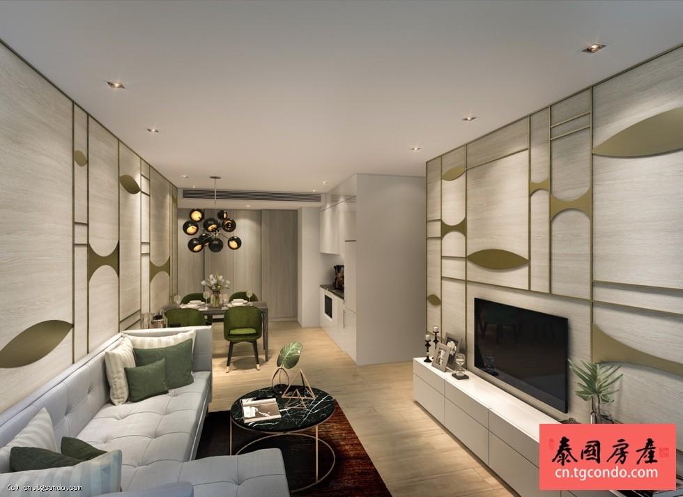 泰国曼谷核心使馆区柏荟公寓 Prem Ruamrudee