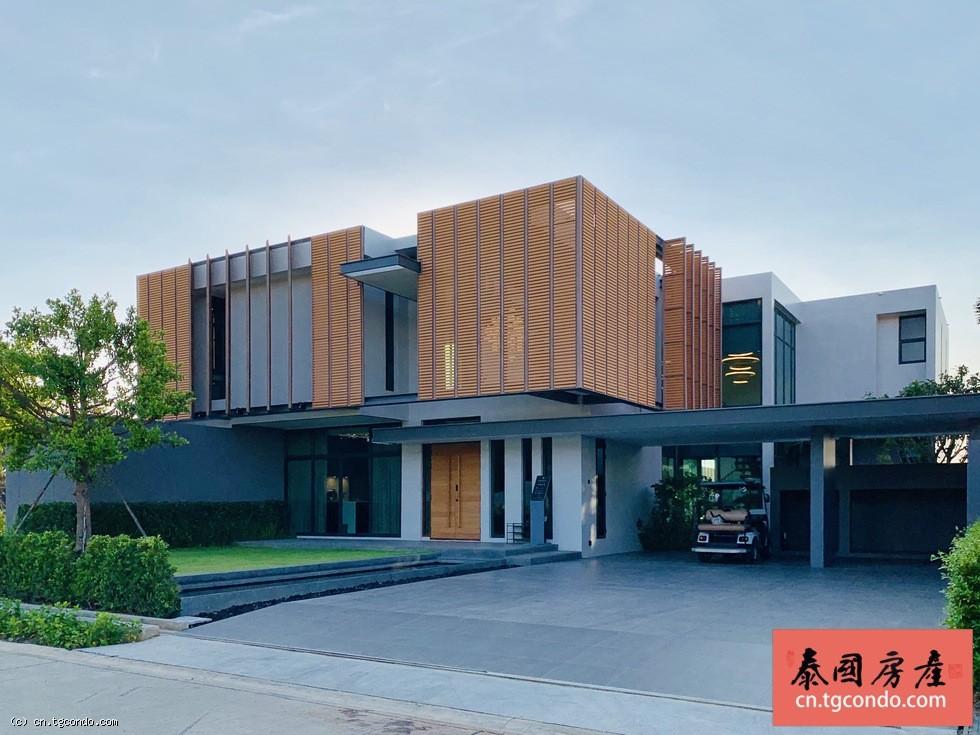 泰国芭提雅前景泳池别墅,私人山顶海景豪宅