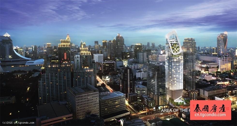 泰国曼谷奇隆区公寓 Q Chidlom Phetchaburi