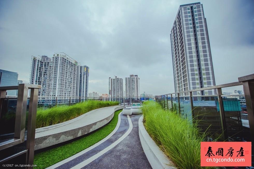 """泰国曼谷""""超级塔""""旁高层现房Rhythm Asoke"""