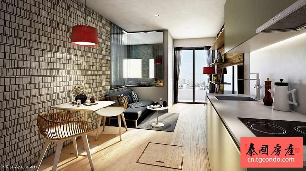 曼谷通罗富人区低层小公寓 Runesu Thonglor 5