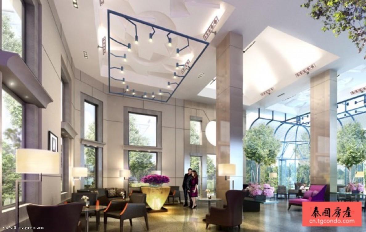 泰国曼谷房地产:素帕莱2房公寓 Supalai Wellington