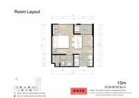 泰国曼谷30平1房经济型低价公寓 The Base Rama 9