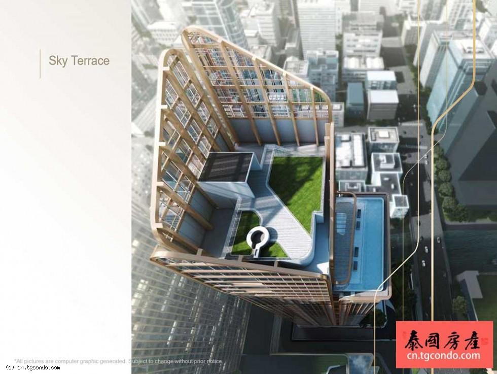 曼谷市中心CBD最新豪宅The ESSE Singha Complex即将开盘