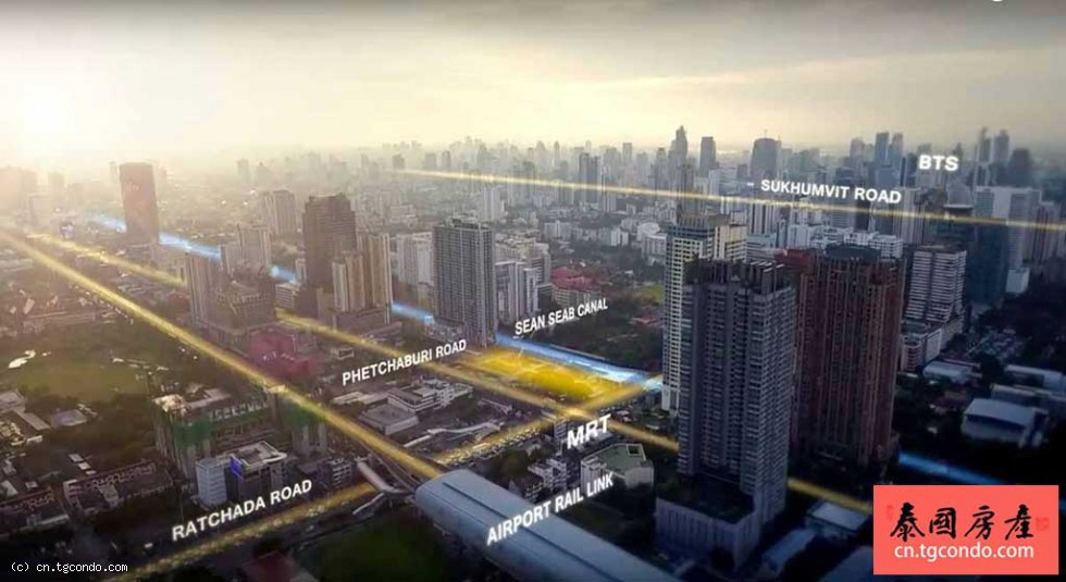 泰国曼谷CBD最新豪宅The ESSE Singha Complex