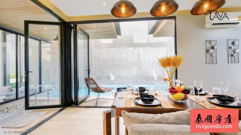 泰国普吉岛豪华三房四卫私人泳池别墅