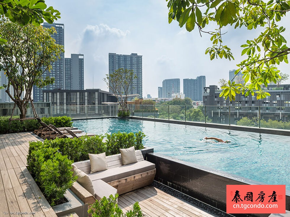 泰国曼谷T77社区BTS On Nut经济投资公寓 Base Park East