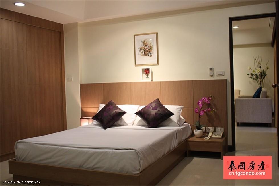 泰国芭提雅中心区大型度假酒店出售
