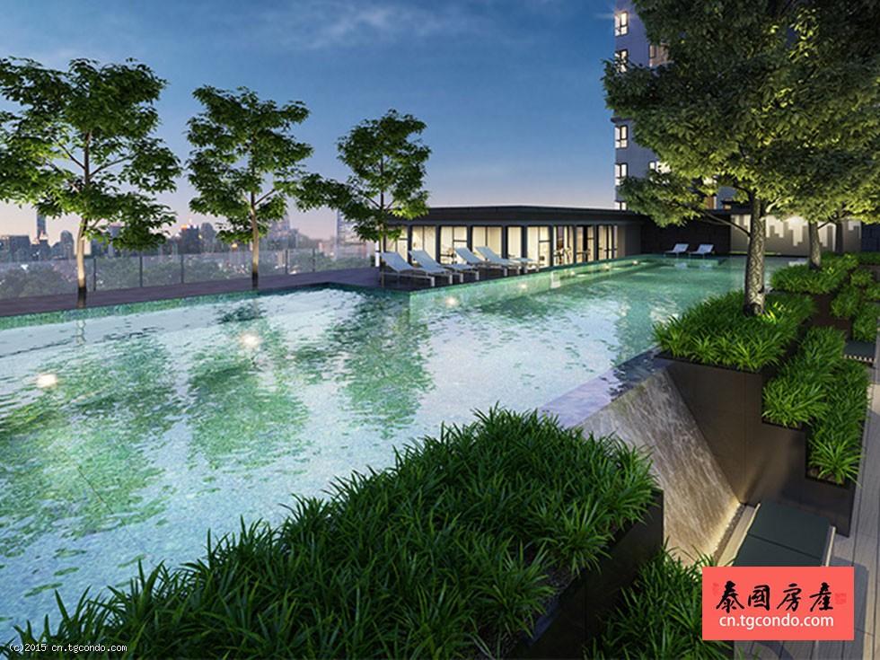 泰国曼谷最新完工楼盘: The Base Park West