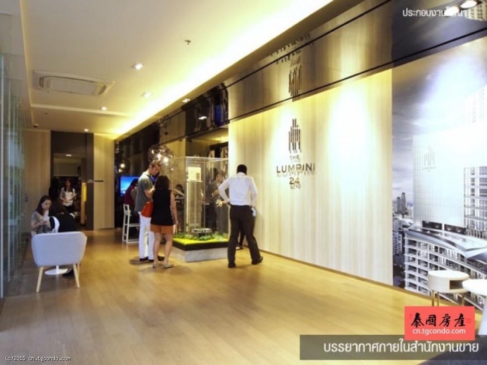 泰国曼谷Phrom Phong站最新现房:The Lumpini 24