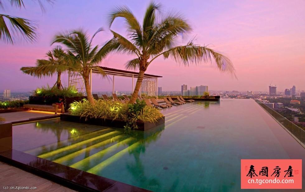 泰国芭提雅中天海滩里维拉摩纳哥公寓The Riviera Monaco