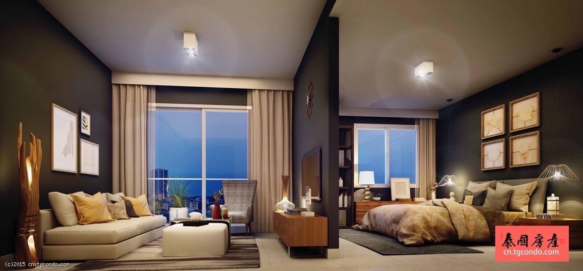 泰国芭提雅海景开间公寓(最后3套) Unixx Condo