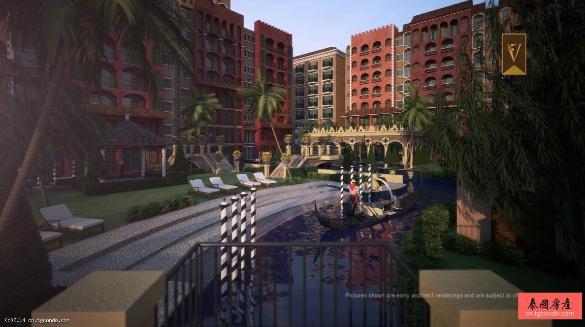 泰国芭提雅房地产:威尼斯人公寓 Venetian