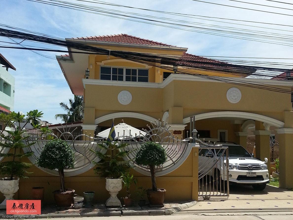 泰国芭提雅别墅出租5卧6卫View Point Village