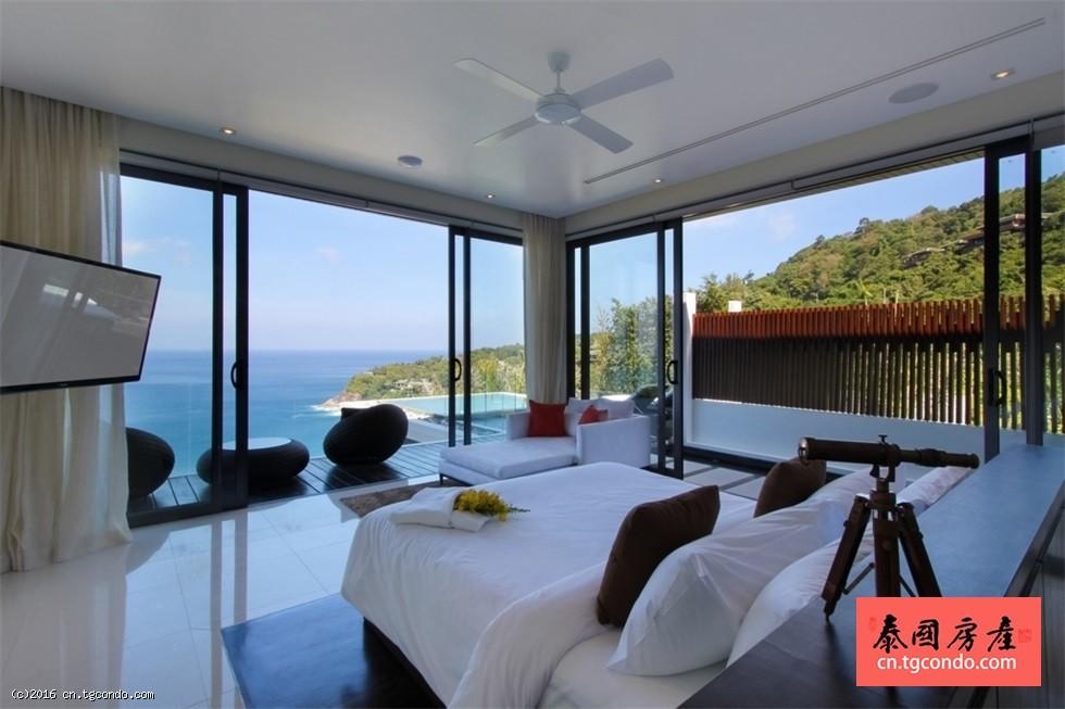 泰国普吉岛Saan超豪华奢侈别墅,环境超赞