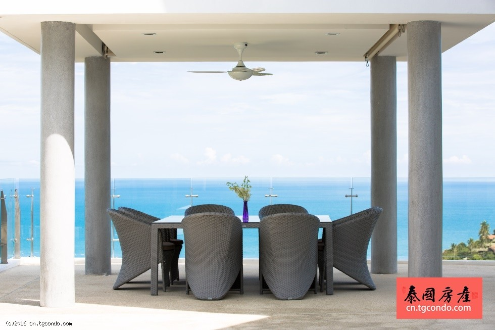 泰国苏梅岛超奢华私人海景别墅,超值回报率