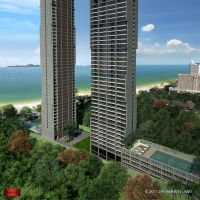 泰国芭堤雅海景豪宅 Zire Wongamat私家海滩