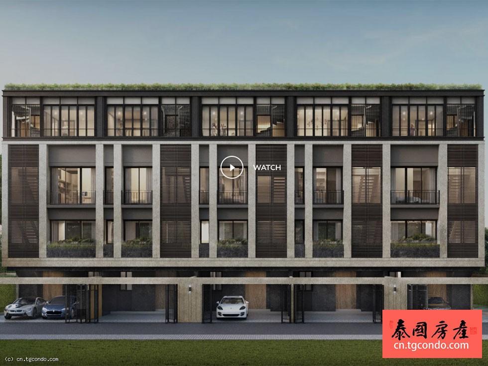 泰国曼谷Aires Rama 9 联排别墅出租