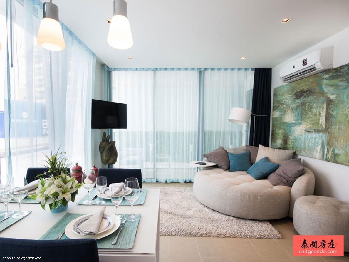 泰国芭提雅房地产:山景极光公寓 Aurora Condo