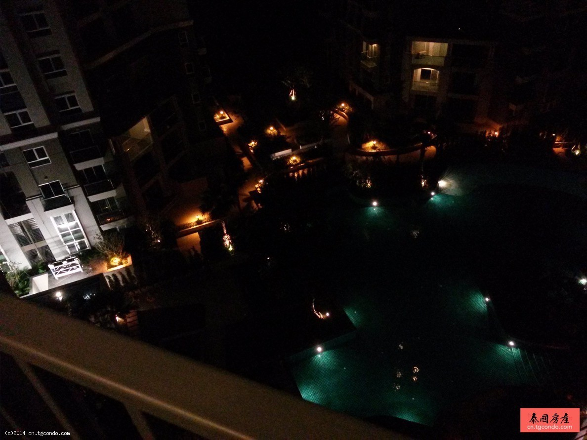 泰国曼谷超级塔旁现房:Belle Grand Rama 9