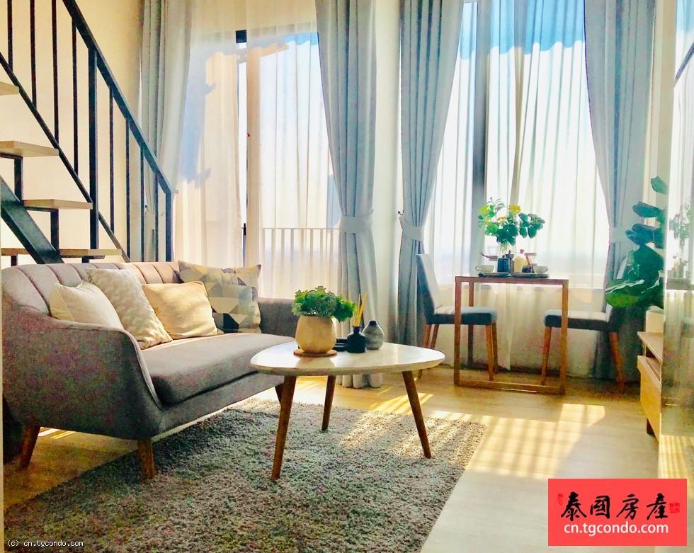 泰国曼谷高层复式公寓 Blossom Beyond