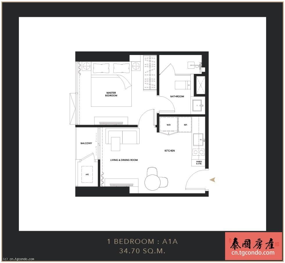 Celes Asoke 泰国曼谷素坤逸地铁站豪华公寓