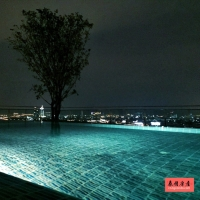 曼谷沙吞金融区84平米2房公寓出租