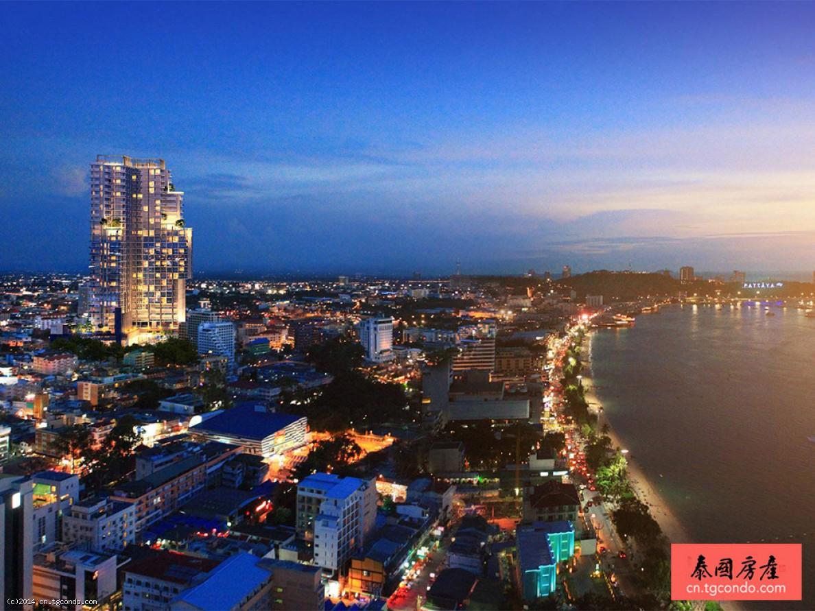 泰国芭堤雅高层楼盘:城市花园大厦City Garden Tower