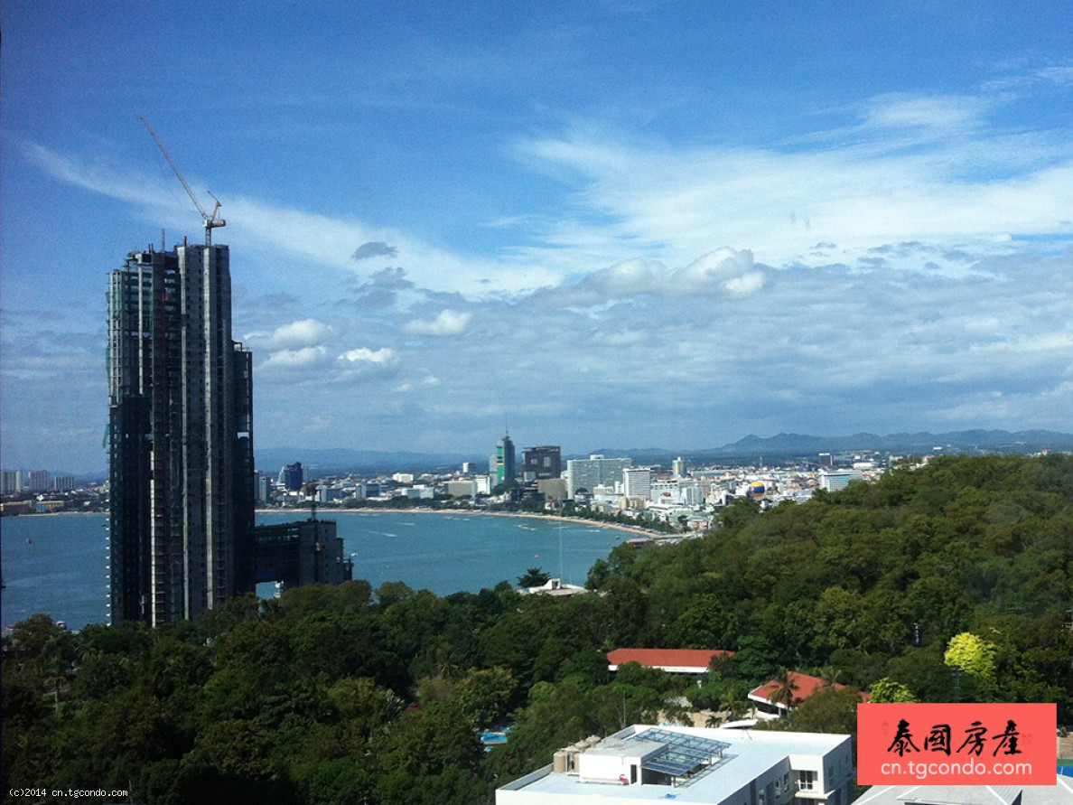 泰国芭提雅顶峰高层海景公寓 The Cliff