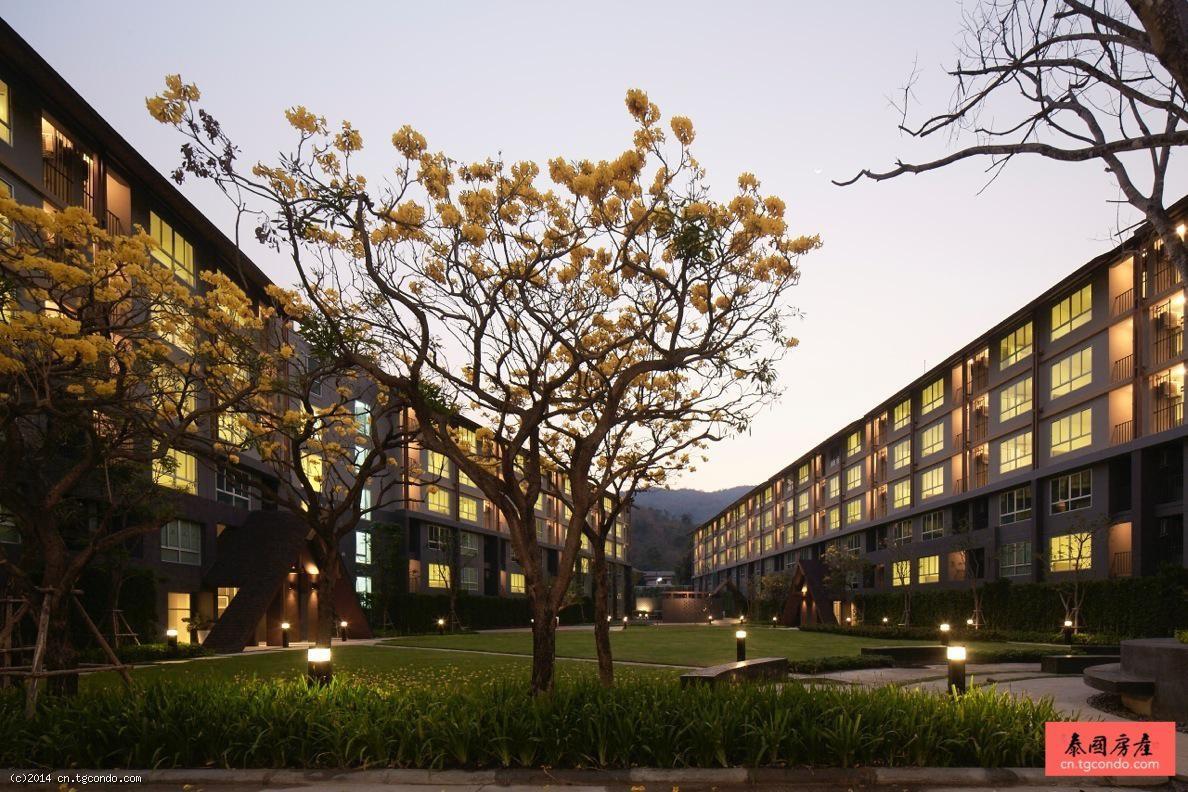 泰国清迈大学公寓:dcondo Campus Resort