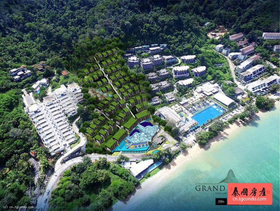 普吉岛度假公寓首选Grand Himalai Oceanfront Residences