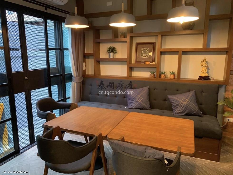 曼谷通罗区Thong Lo商住两用联排别墅出售,素坤逸36巷