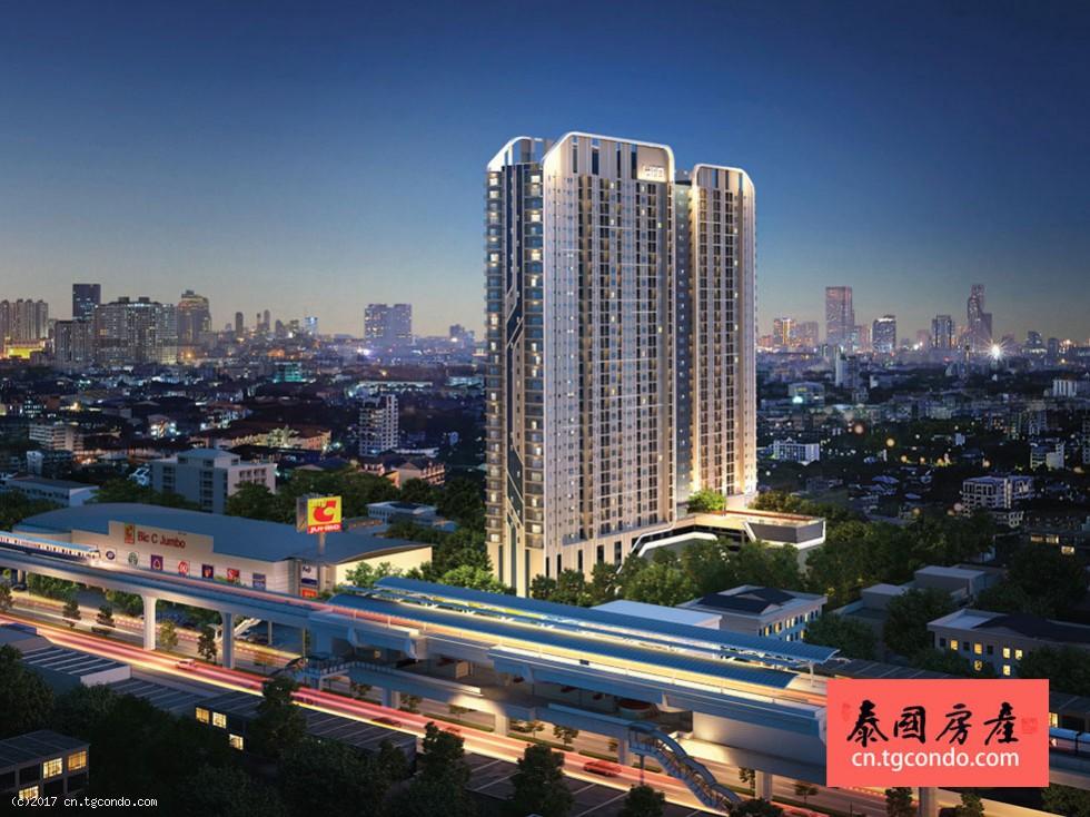 曼谷素坤逸高层现房IDEO Sukhumvit 115