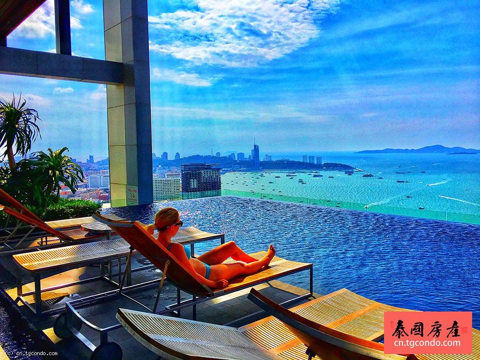 泰国芭提雅中心海一房一卫