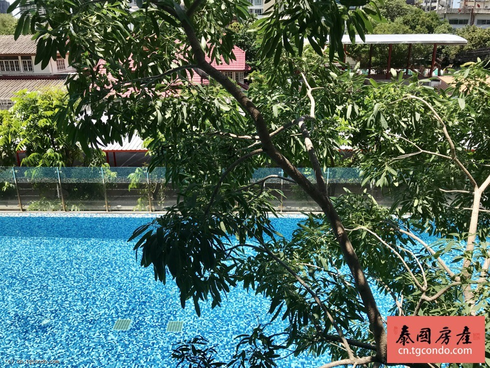 泰国曼谷是隆区Klass Silom公寓出租, 两房两卫
