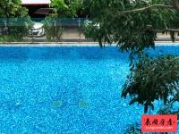 Klass Silom稀有两房公寓出售,泰国曼谷是隆,泳池景观,户型超赞