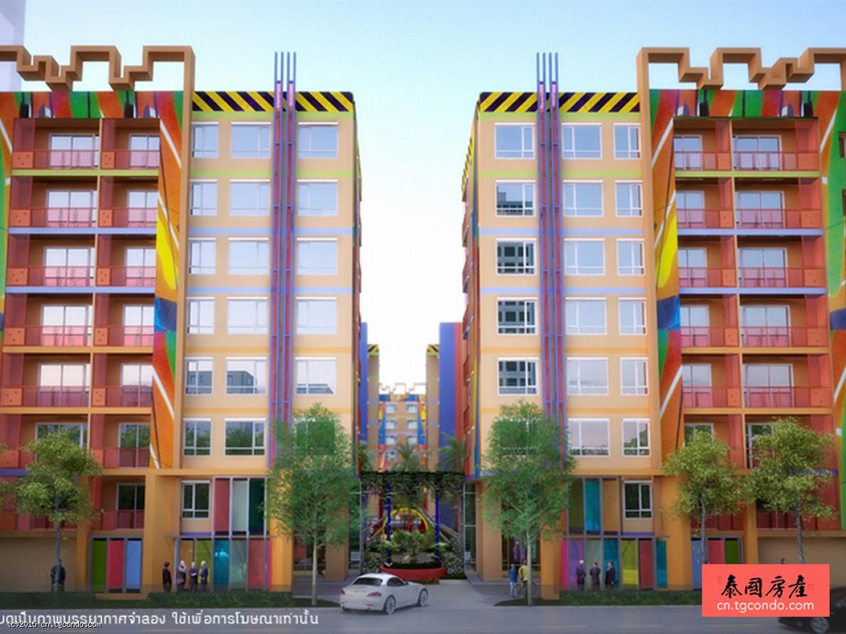泰国曼谷房地产:MeStyle Sukhumvit Bangna