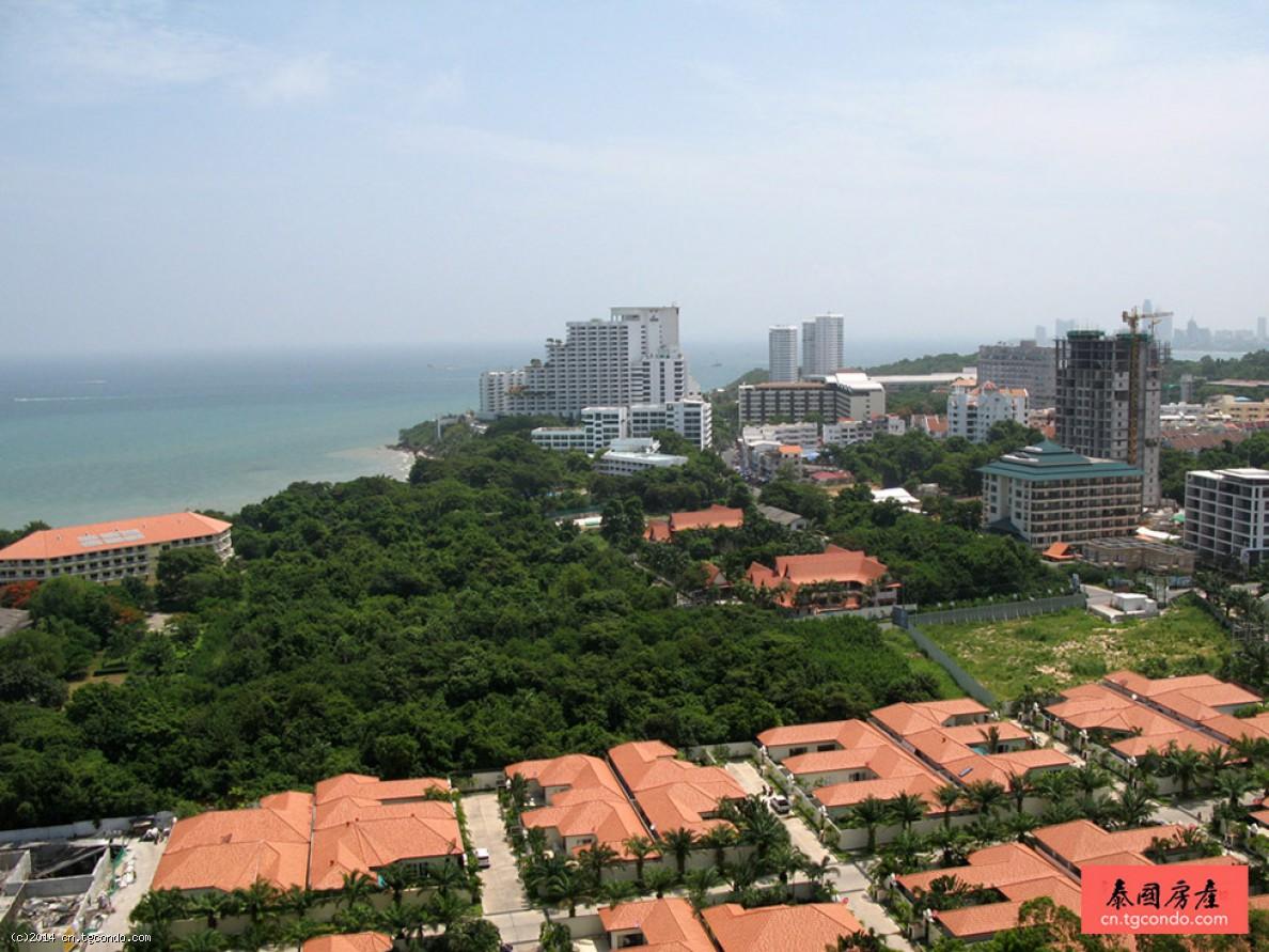 泰国芭提雅公寓第一海景 30平开间 One Tower
